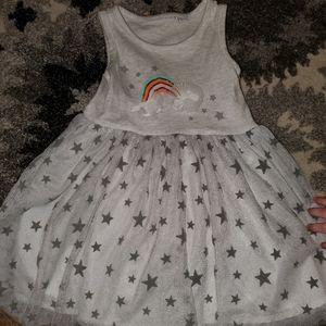 Elegant baby rainbow tutu dress